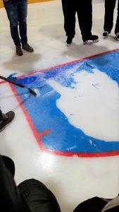 Mangelhaftes Eis führt zum Spielabbruch